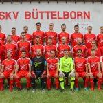 Mannschaftsbild erste Mannschaft SKV Fußballer