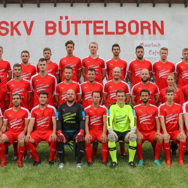 Teamfoto erste Mannschaft SKV Fußballer
