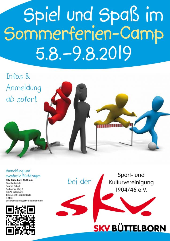 SKV Sommerferiencamp 2019