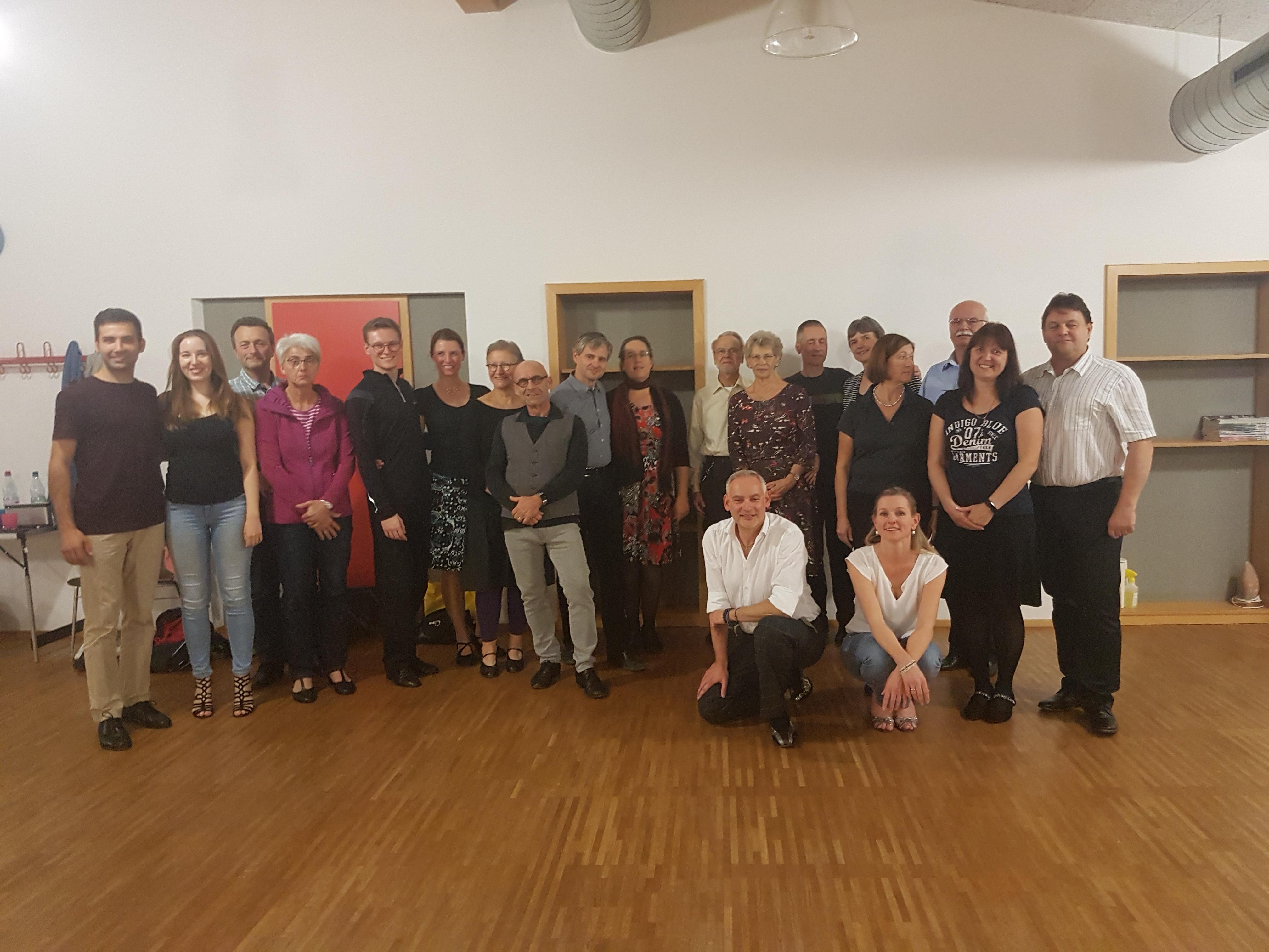 Tango Argentino-Workshop bei den Paartänzern