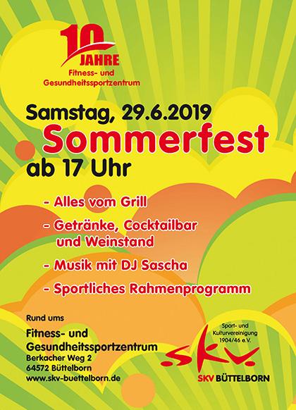 Sommerfest für Mitglieder und Freunde
