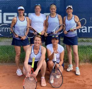 Auf dem Bild sind: Anja Meister-Werner, Steffi Gölzenleuchter, Alexandra Massag, Tanja Bergsträßer, Christiane Staudt und Anja Holdefehr.
