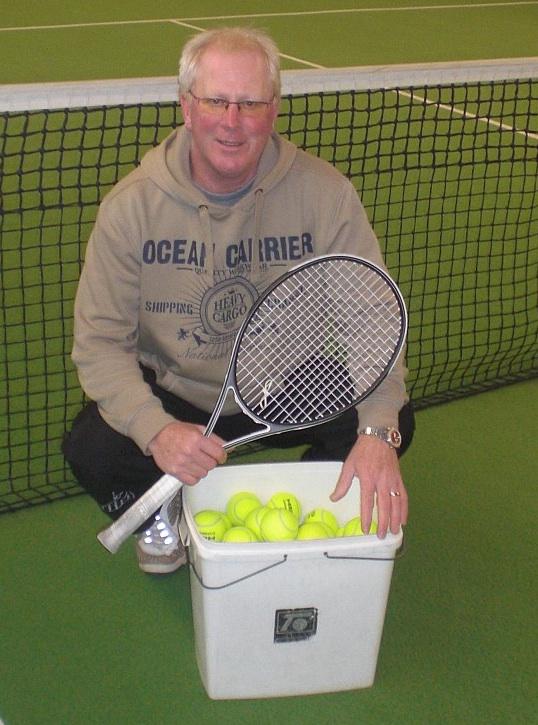 Tennistrainer Michael Hofmann. (Foto: Hofmann)