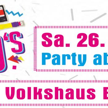 90er Party der SKV Büttelborn im Volkshaus Büttelborn